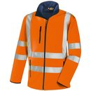 TEXXOR NIAGARA Warnschutz-Softshelljacke Orange